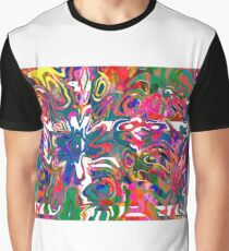 Abstract pattern digital painting electronic love no 9 Graphic T-Shirt