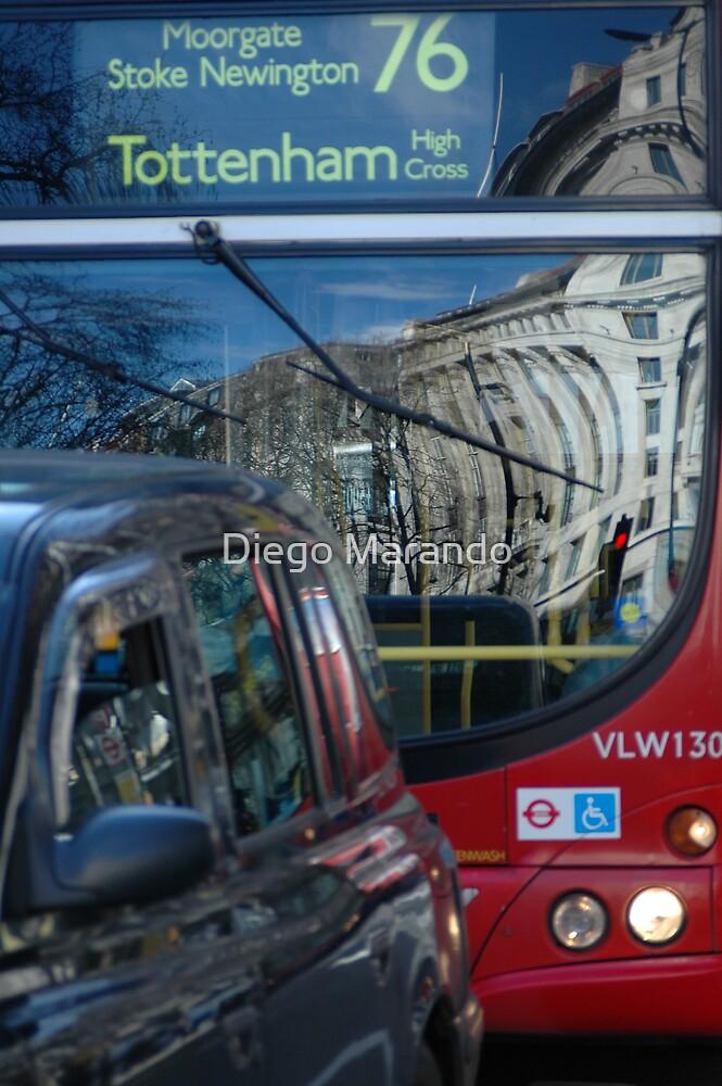 76 & a cabby by Diego Marando