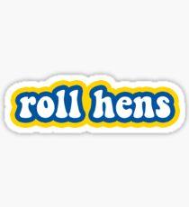 Roll Hens - University of Delaware Sticker