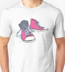 Sneakers. Unisex T-Shirt