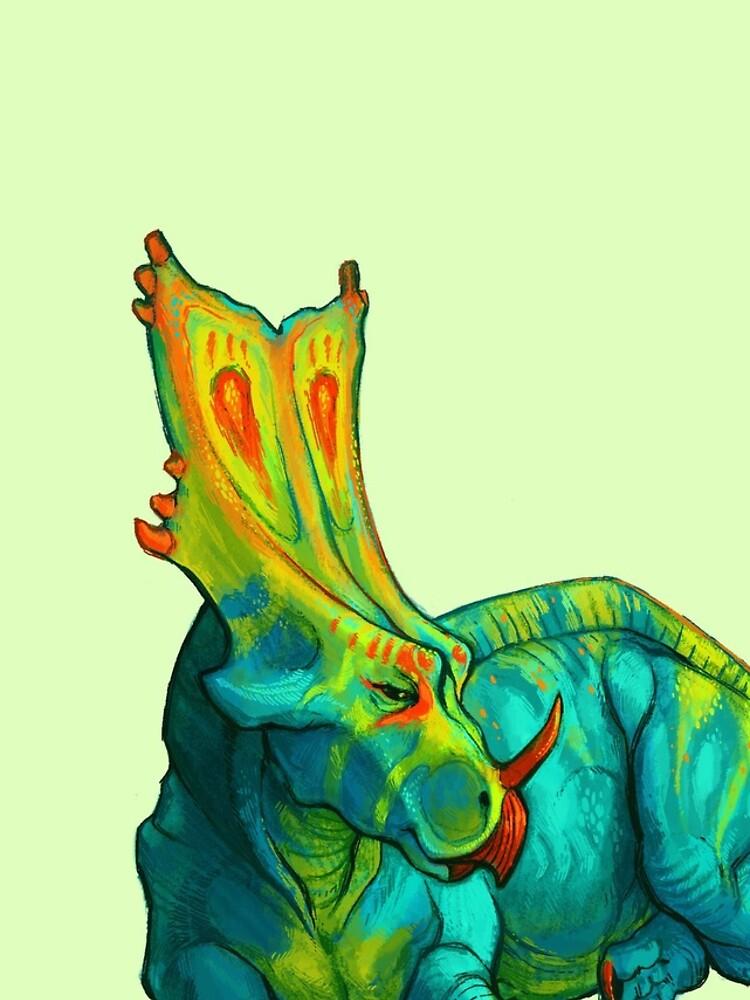 Chasmosaurus belli de thoughtsupnorth