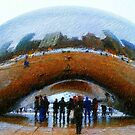 Chicago from the Bean by Brian Gaynor