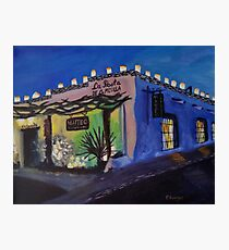 Adobe Mexican Restaurant Photographic Print