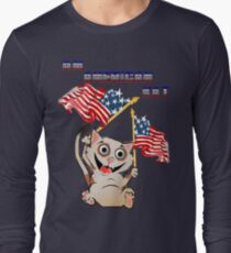 An American Kat Long Sleeve T-Shirt