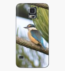 Kingfisher in the Norfolk Pine Case/Skin for Samsung Galaxy