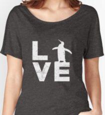 Funny Penguin Lover Shirt Gift for Men Women Women's Relaxed Fit T-Shirt