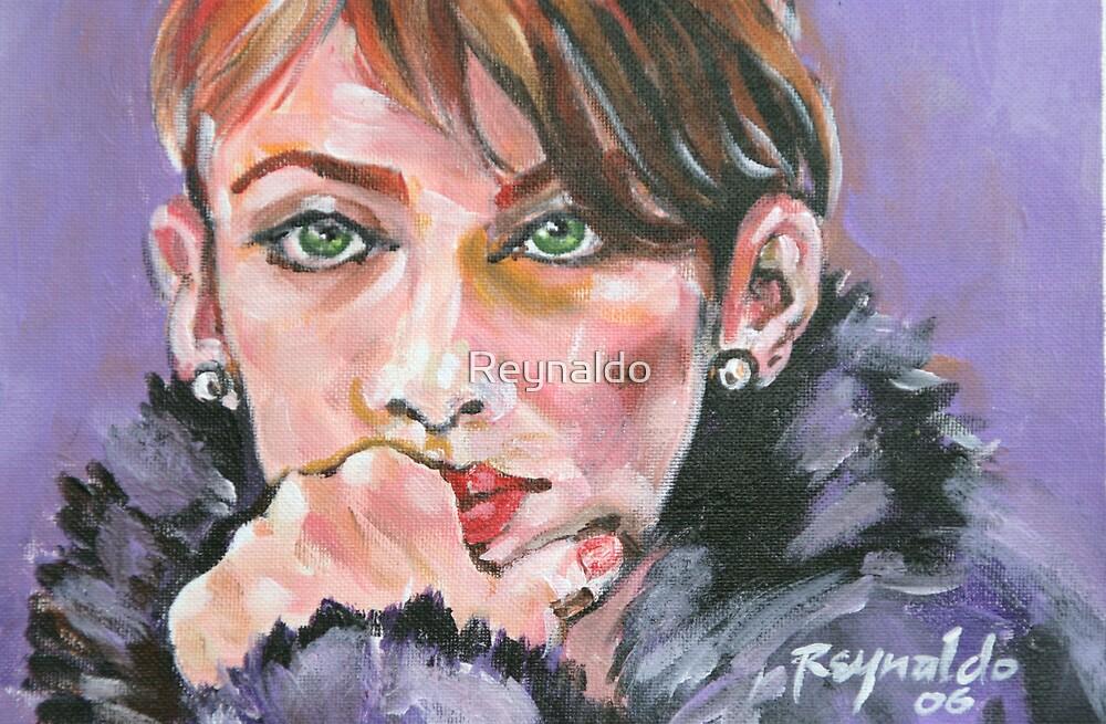 Those Green Eyes  by Reynaldo