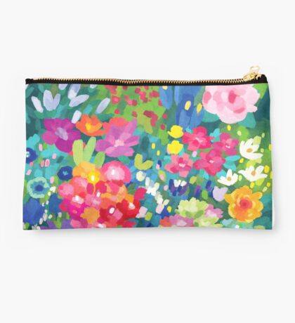 Florals...for Spring Studio Pouch