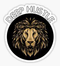 Lion Deep Hustler Sticker