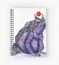 Galaxy Toad  Spiral Notebook