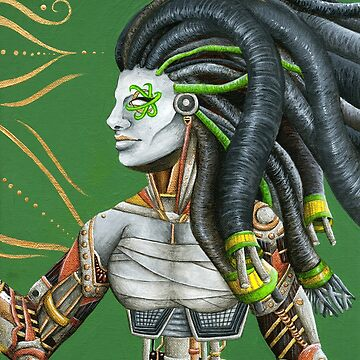Tribal Cyborg by thegingerimp