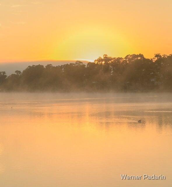 Murray River Sunrise 01 by Werner Padarin