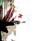 Grunge Flower by sadeyedartist