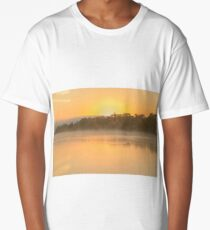 Murray River Sunrise 01 Long T-Shirt