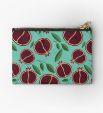 Pomegranate Garden Zipper Pouch
