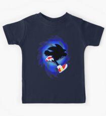 Super Smash Bros. Sonique Silhouette T-shirts enfant