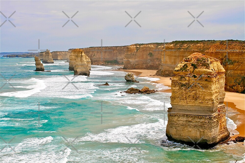 The Twelve Apostles, Great Ocean Road, Australia by Cindy Ritchie
