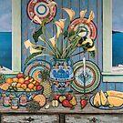 Porto Fira, Santorini by Sarina Tomchin