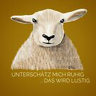 Fun Sheep  von Edith Handelsmann