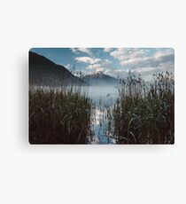 Lake Morning - Landscape and Nature Photography Canvas Print