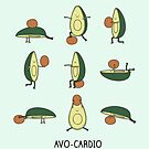 Avo-cardio by Milkyprint