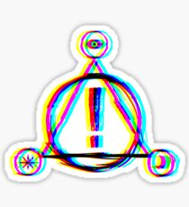 Logo P! ATD Sticker