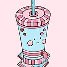 Kawaii smoothie pattern by Dewychan