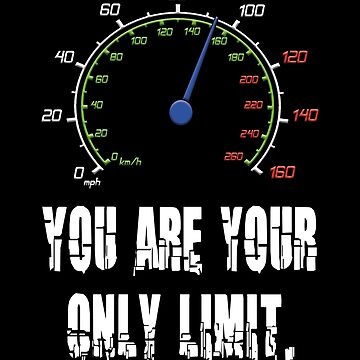 You are your only limit5-motivating speech-quote shirt by XLXDesign