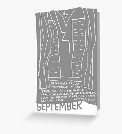 September Greeting Card