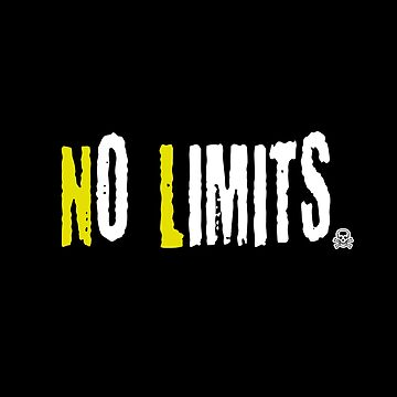 No Limits 4-motivating speech-quote shirt by XLXDesign