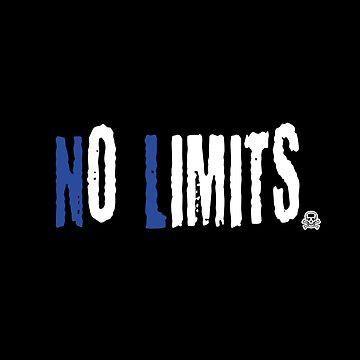 No Limits 5-motivating speech-quote shirt by XLXDesign