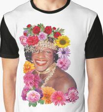 Camiseta gráfica Flowerful Marsha P. Johnson