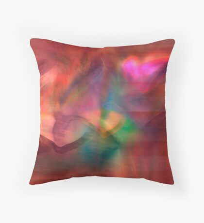 heart connection via Miles:	5513.26   /Kilometers:	8872.49 Throw Pillow