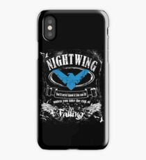 nightwing - label whiskey style iPhone Case