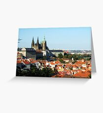 Prague Castle, Czech Republic Greeting Card