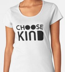 Choose Kind Official Merchandise Women's Premium T-Shirt