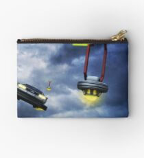 Welcome to Hill Valley - Please Fly Safely Studio Pouch