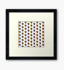 The Rubik's Cube Framed Print