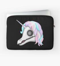 My Little Dead Unicorn | Rainbow Unicorn Skull | Black Laptop Sleeve