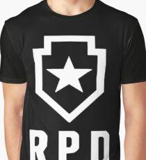 Camiseta gráfica Resident Evil 2: RPD reimaginado Logo