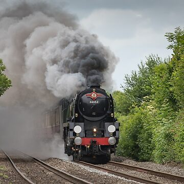 SR Rebuilt Light Pacific 4-6-2 no 34046 (as 34052 Lord Dowding) by stevesimages1