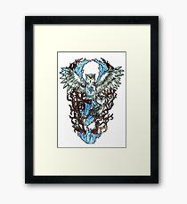 Crystalline - Owl Framed Print