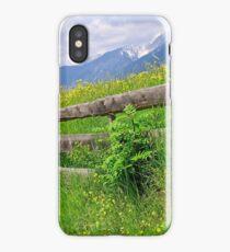 Grassland in Tyrol Austria iPhone Case