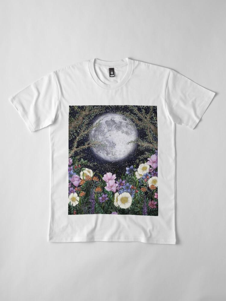 Alternate view of Midnight in the Garden II Premium T-Shirt