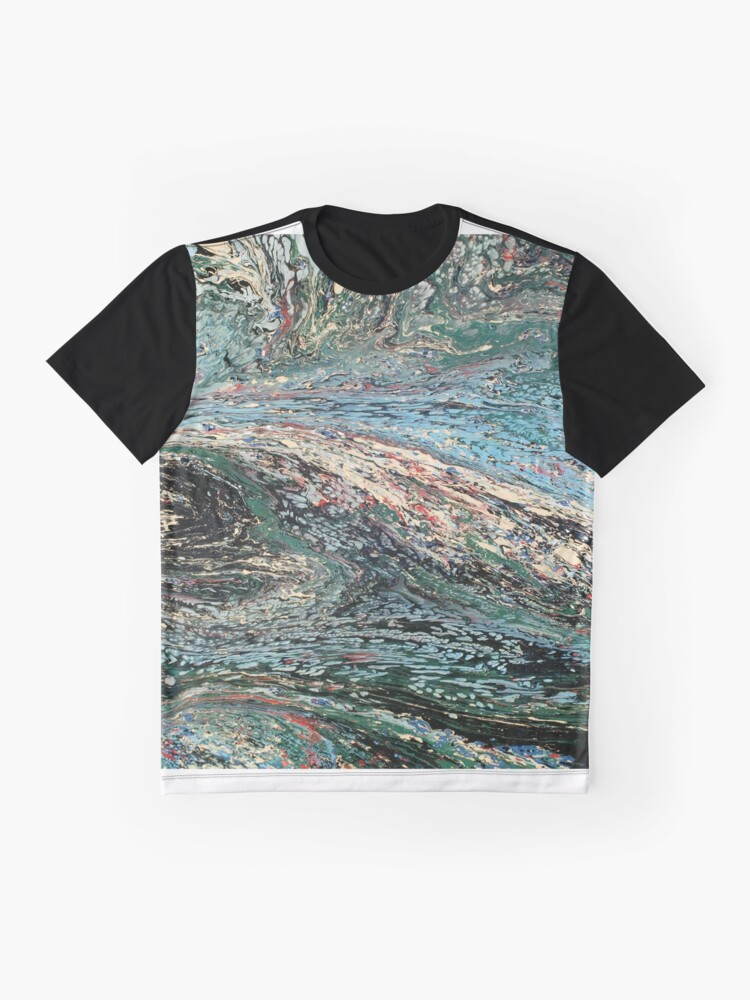 Alternate view of Abstract No. 45  Graphic T-Shirt