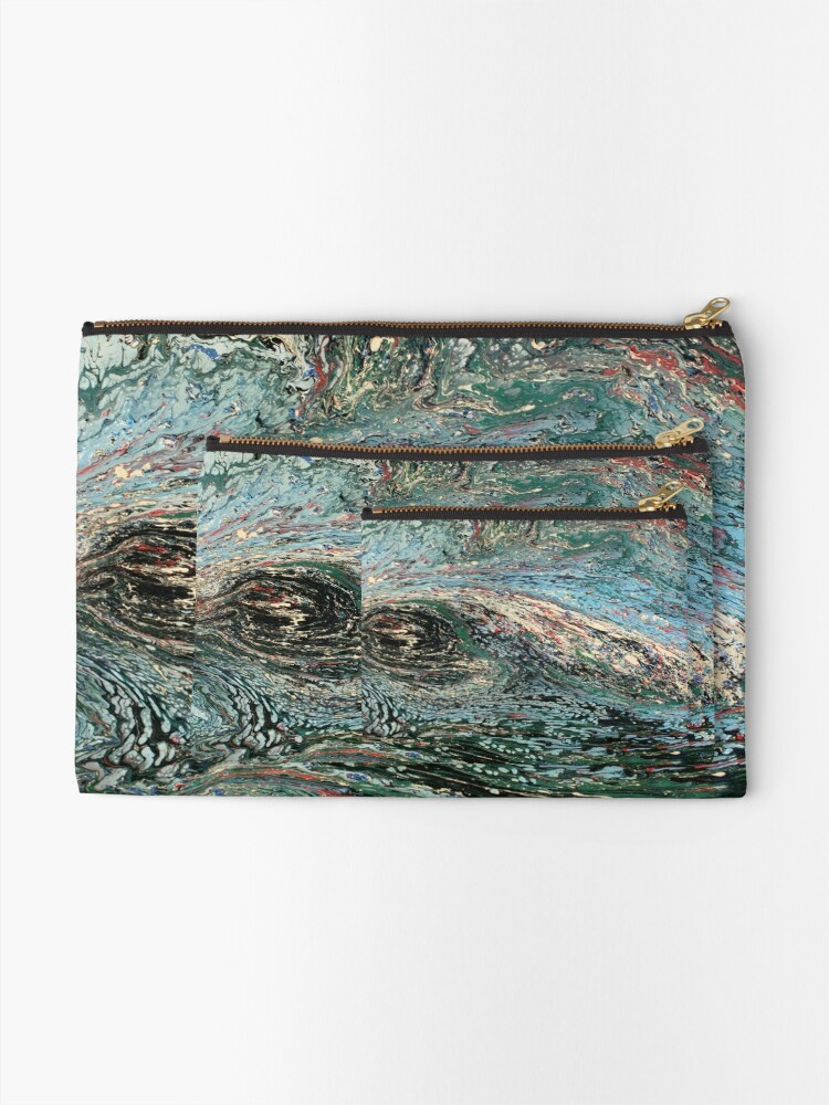 Alternate view of Abstract No. 45  Zipper Pouch
