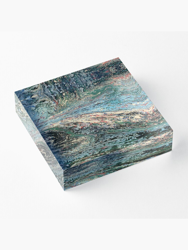 Alternate view of Abstract No. 45  Acrylic Block
