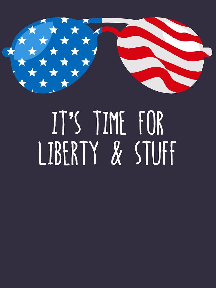 Lustiges 4. Juli-Hemd (Freiheit und Material) von BootsBoots