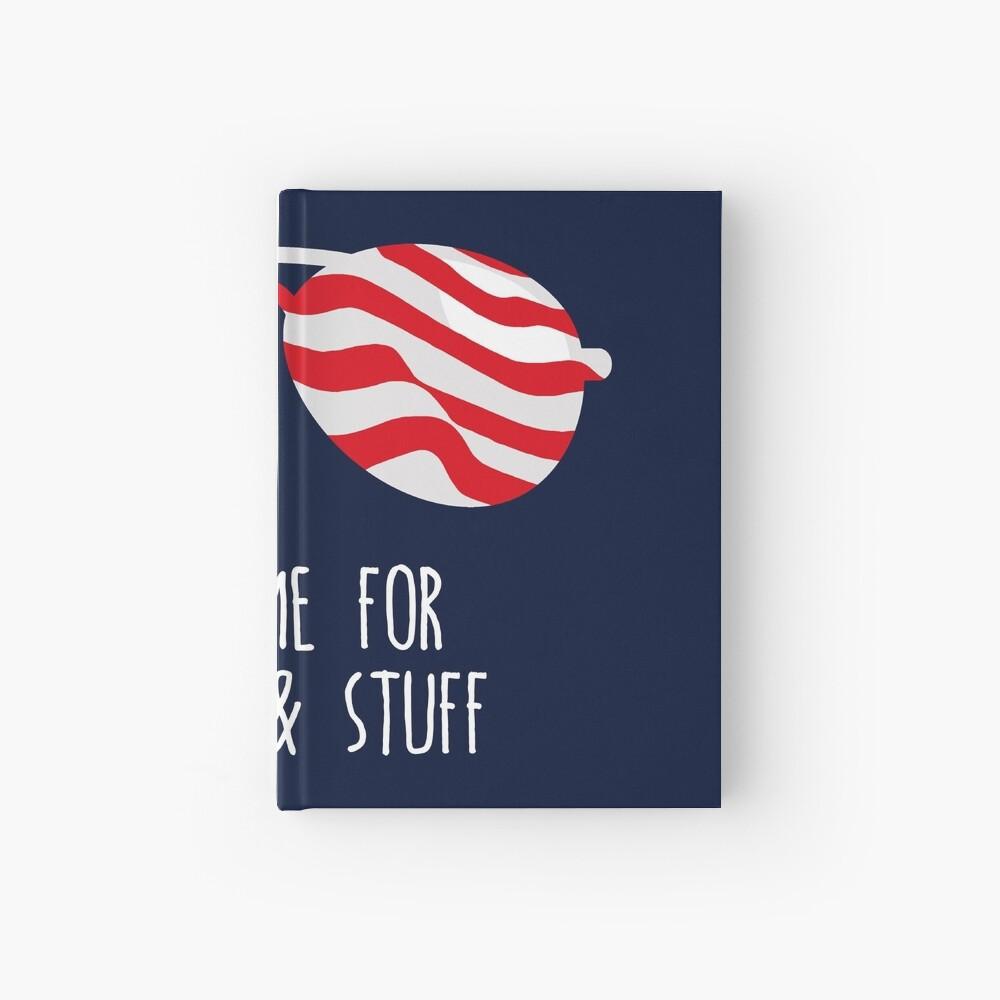 Lustiges 4. Juli-Hemd (Freiheit und Material) Notizbuch