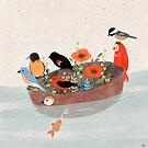 «Aves migratorias» de carosurreal